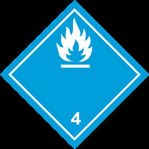 Amnen Som Utvecklar Brandfarlig Gas Vid Kontakt Med Vatten Vit