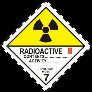 Radioaktiva Amnen Gul